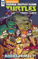 Teenage Mutant Ninja Turtles Amazing Adventures: Robotanimals #3 (of 3) - Cover A